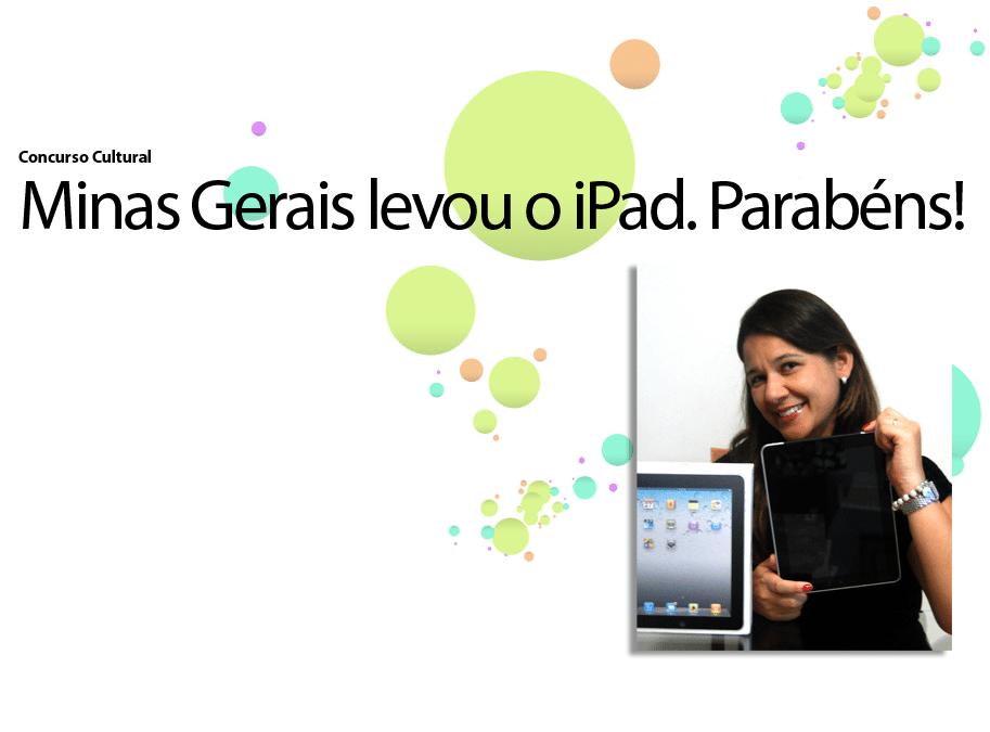 Concurso Eu Quero Navegar com um iPad
